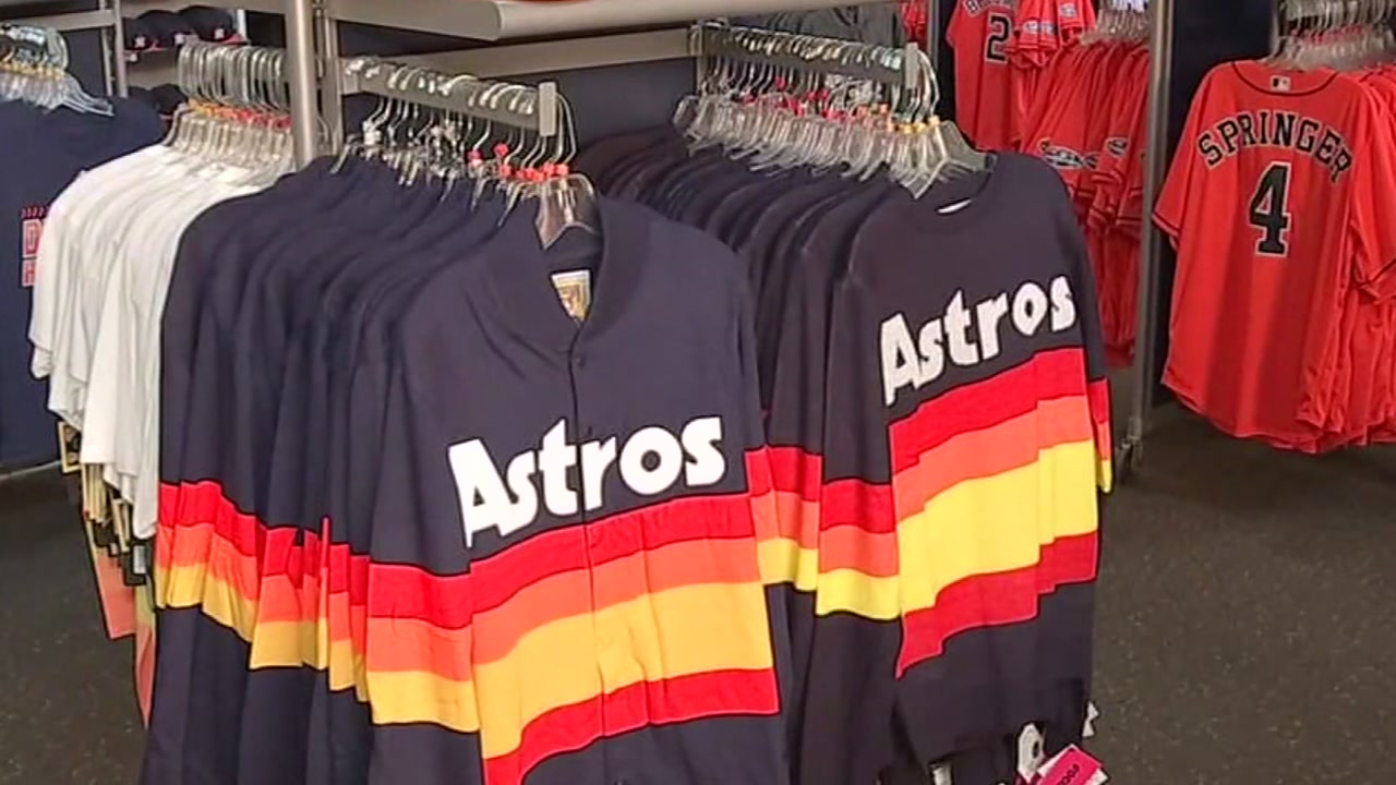 ORANGE OUT: 'Must have' Astros gear ahead of Game 3 of ALCS