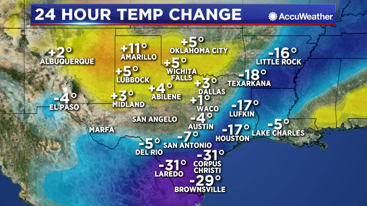 ONE MINUTE WEATHER: Record cold in Houston today