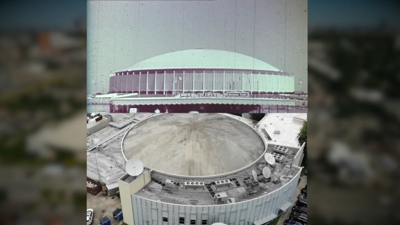 Dave Wards Houston: The Astrodome and the Digital Dome