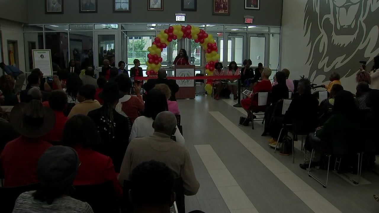 Yates HS grand opening