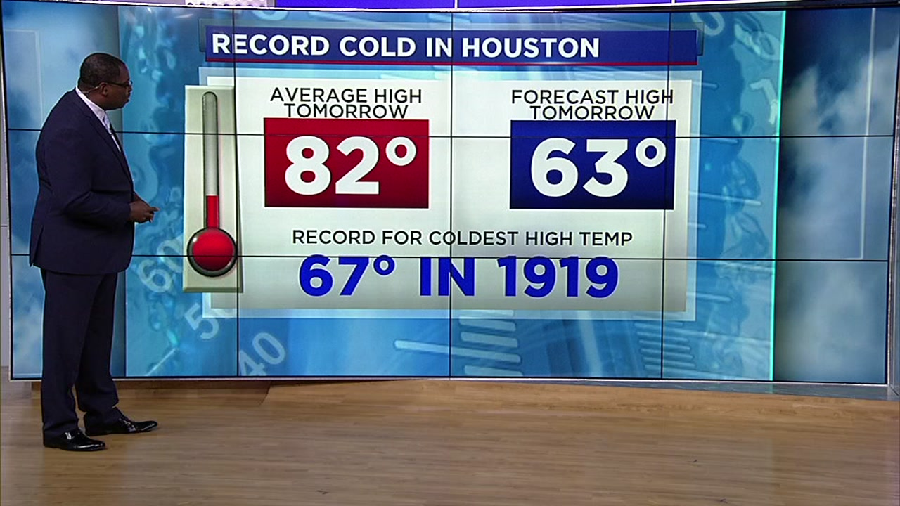 David Tillman explains the record-breaking cold felt in Houston.