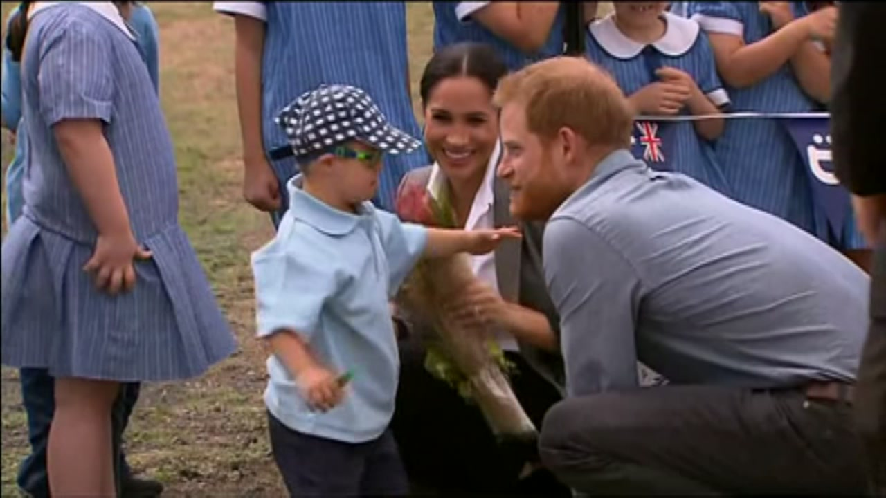 It looks like Prince Harry just moved up on the list of favorite people for one little boy.