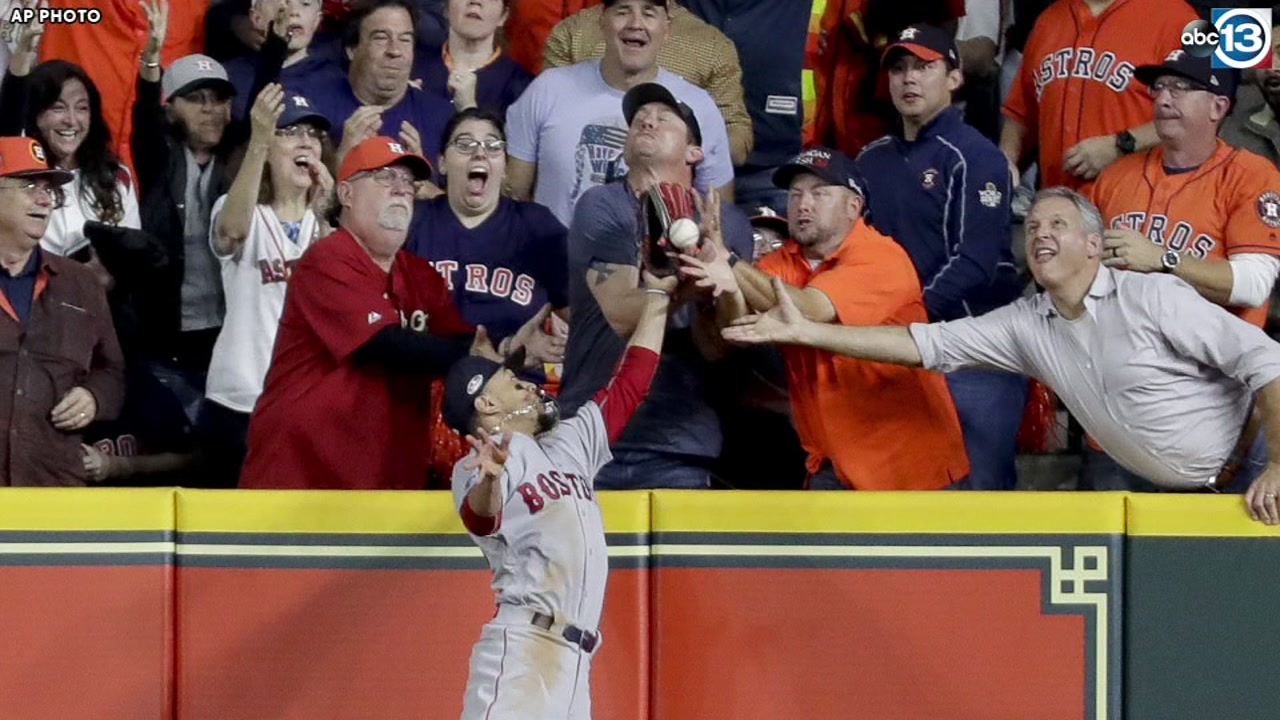 A controversial call involving ruled fan interference enveloped the early part of ALCS Game 4.