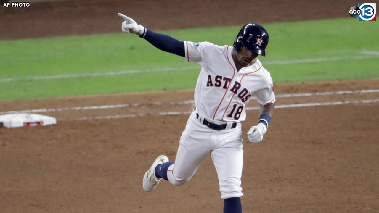 Astros get homers from Kemp and Springer in ALCS Game 4