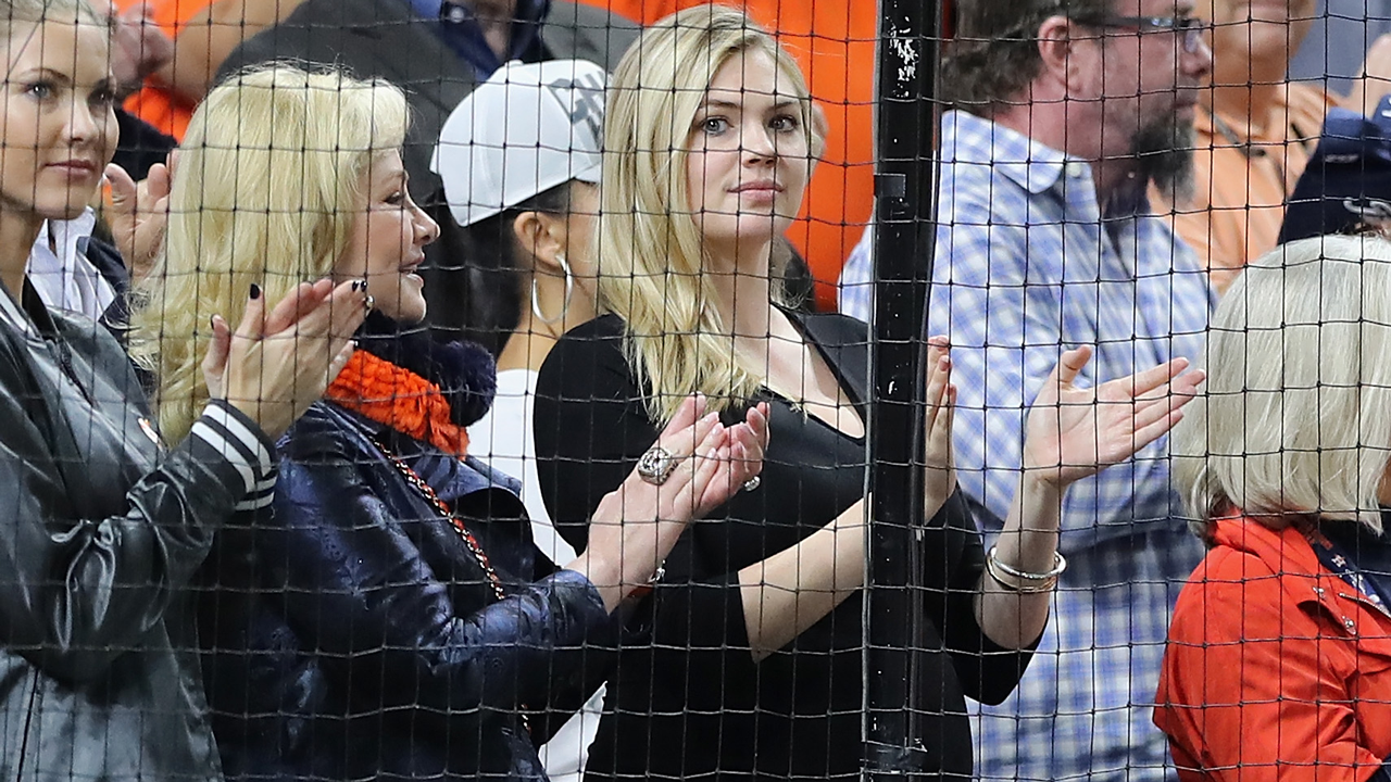 Kate Upton at Astros game
