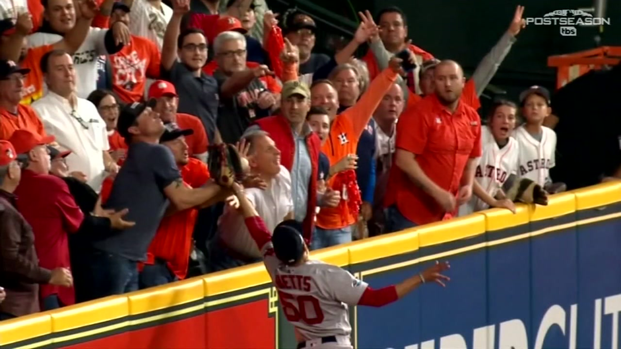 A local umpire doesnt agree with the controversial call from Game 5 of the ALCS.