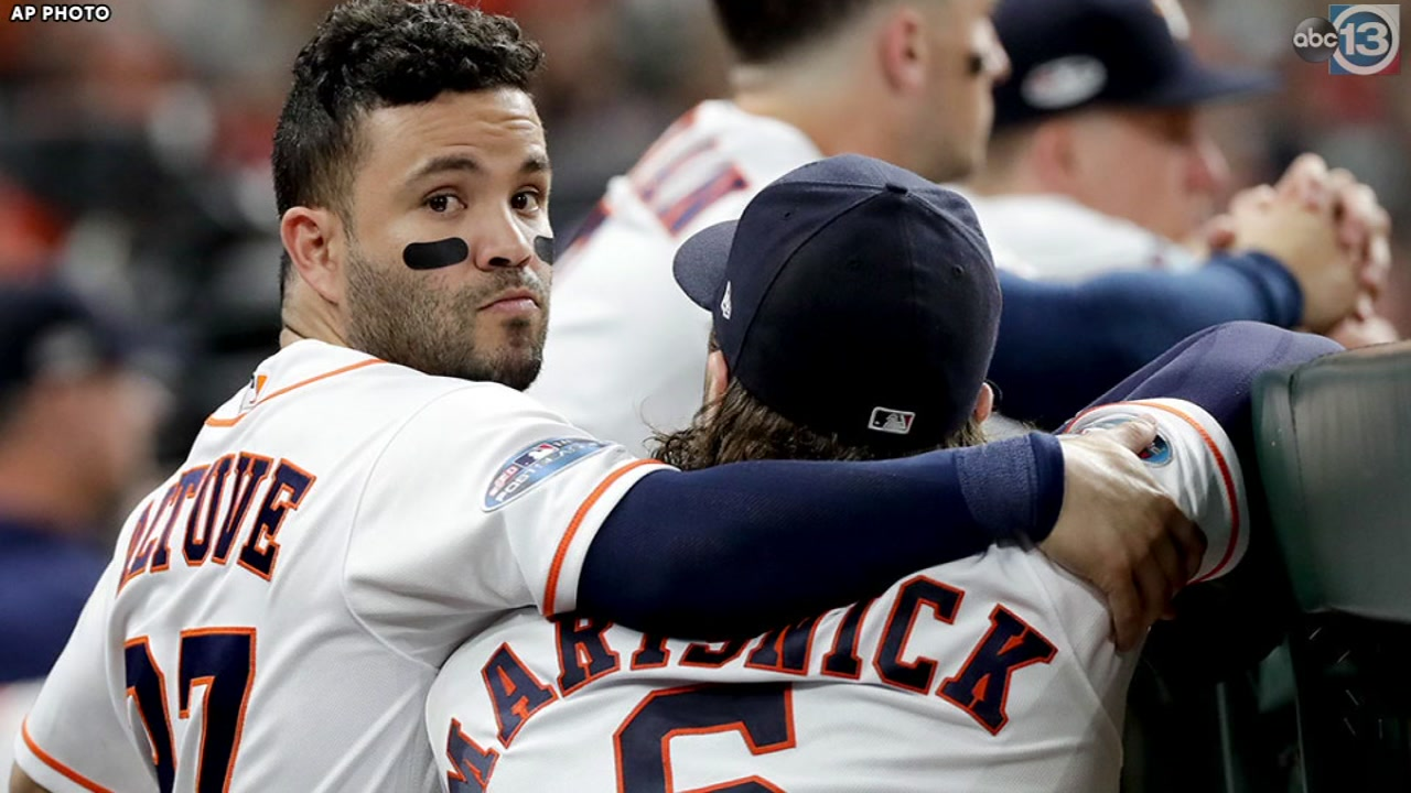 Astros World Series title defense comes to close in Game 5