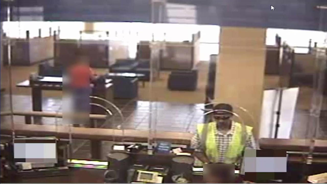 Serial bank robber sought