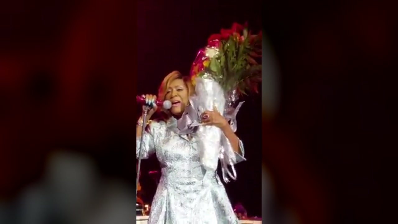 Baytown man serenaded by singer Patti Labelle after gifting her with flowers