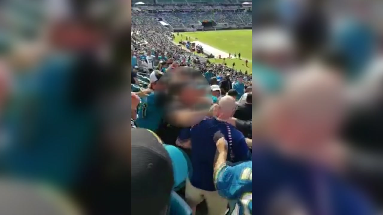 Houston Texans fan sucker punched at Jaguars game (Source: Richard Elliott)