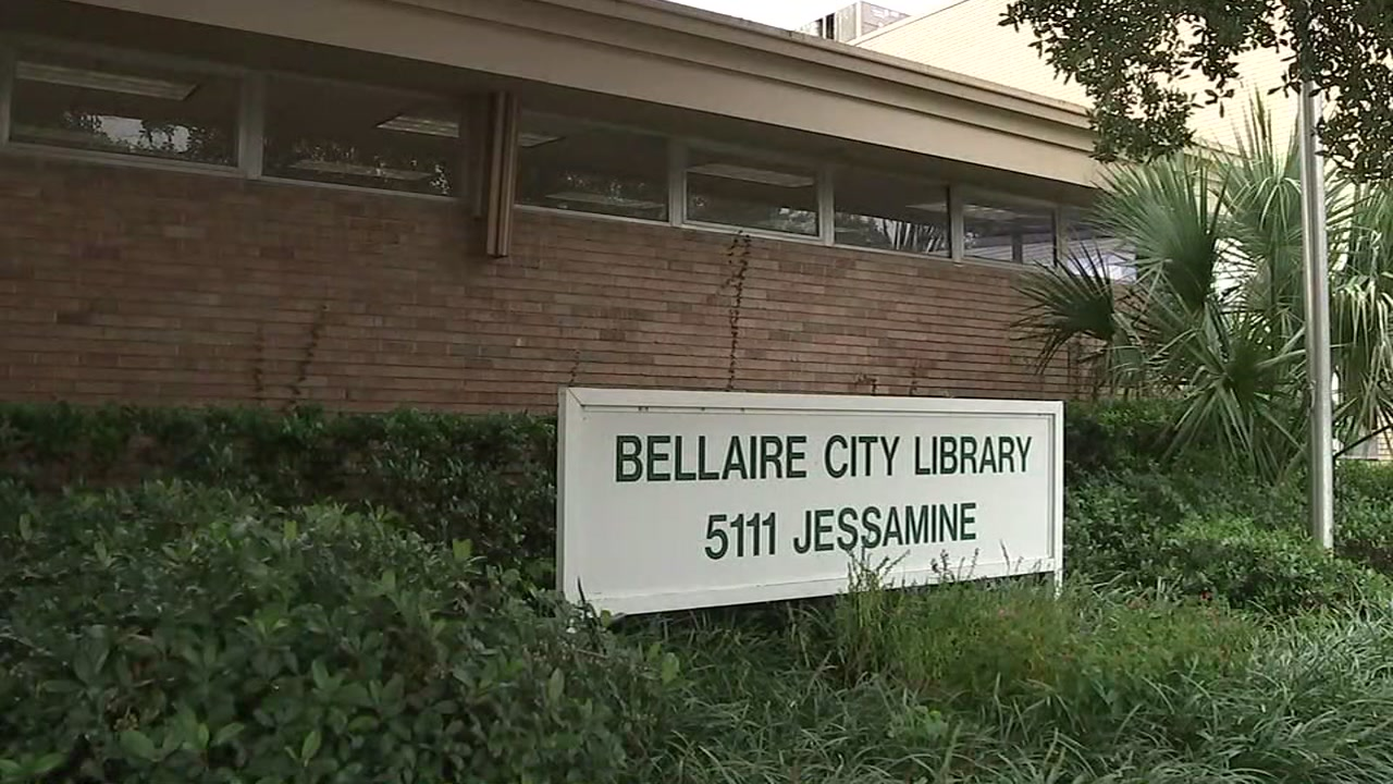 A man is accused of exposing himself at the Bellaire City Library.
