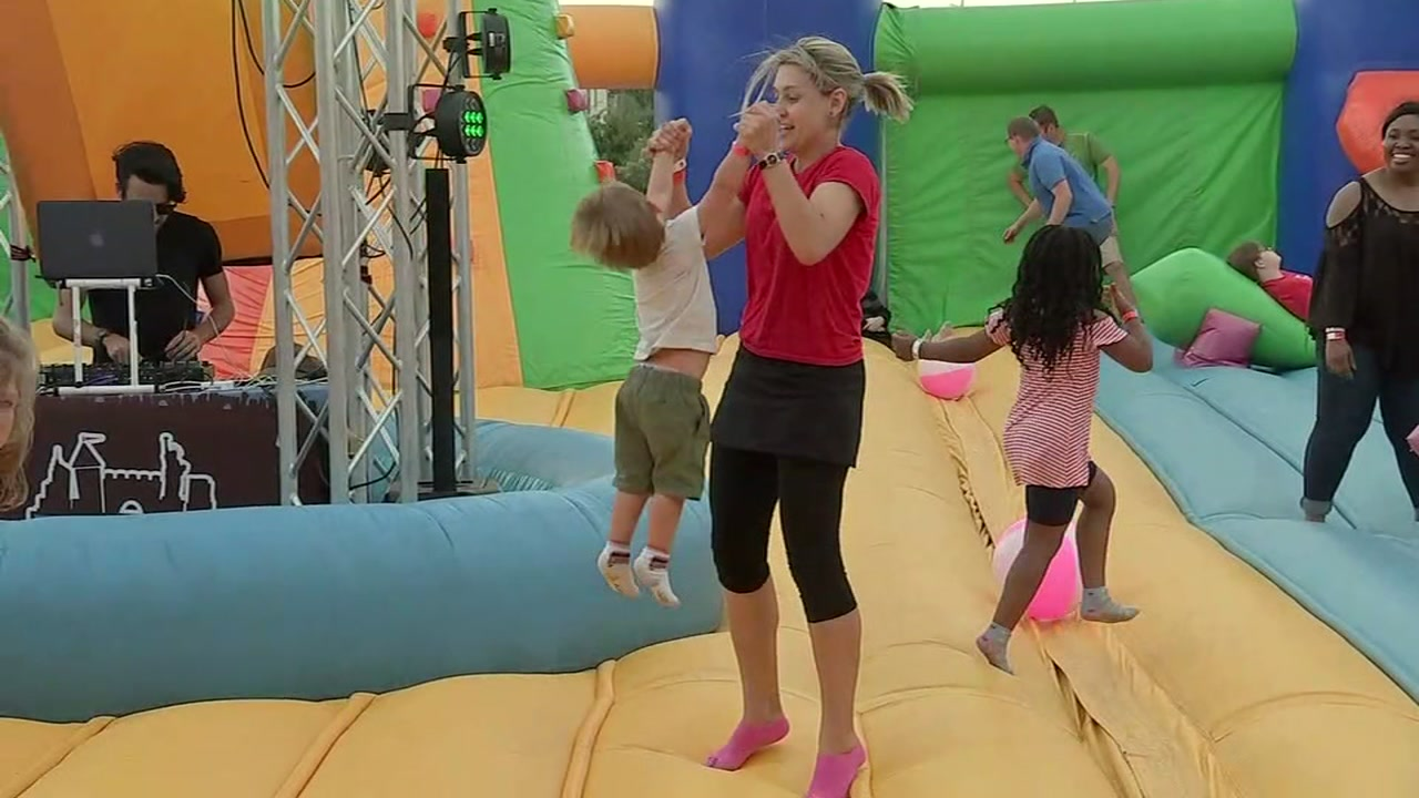 Worlds biggest bounce house returns to Houston this weekend