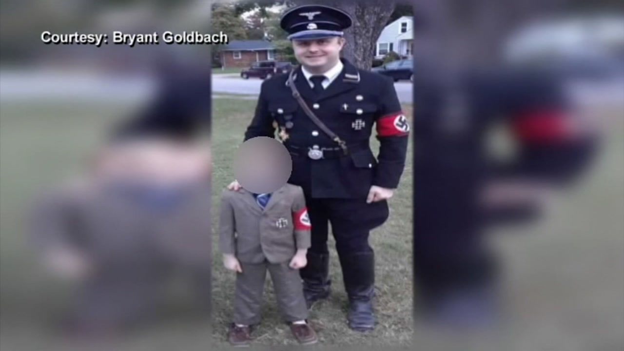 A picture of Bryant Goldbach and his son went viral and continues to spark outrage.