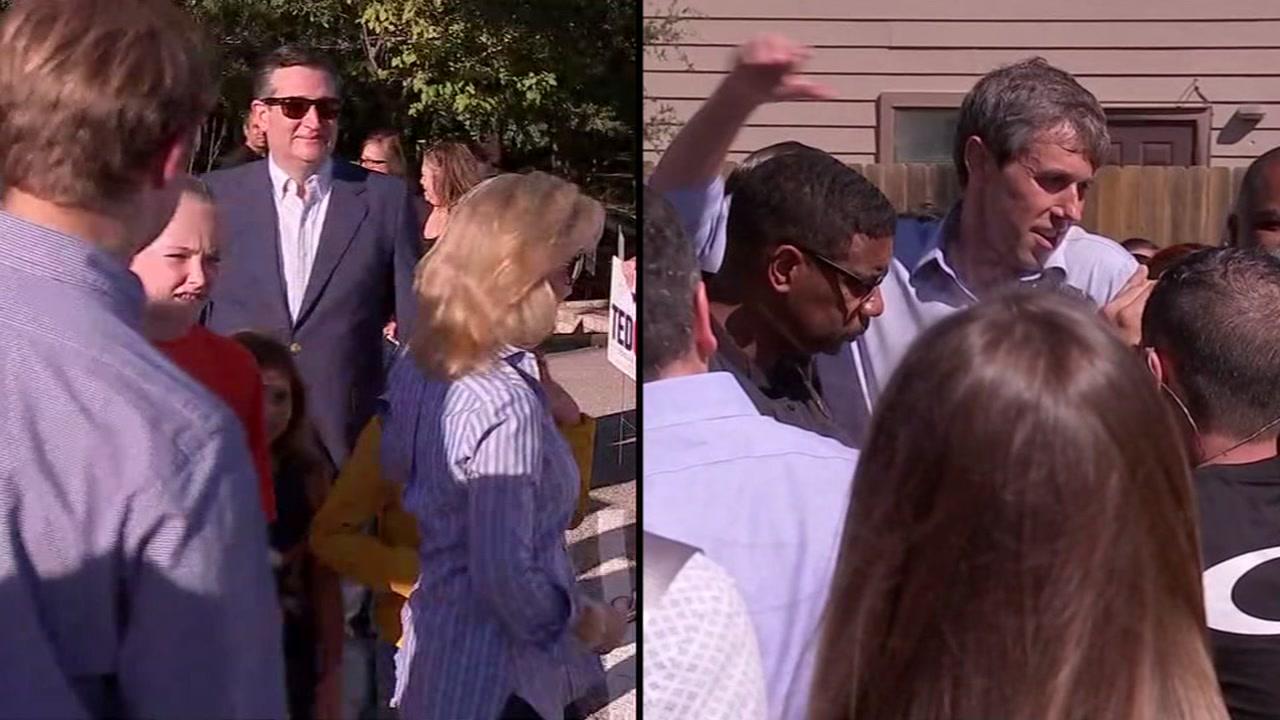 Beto and Cruz rally in Houston entering homestretch