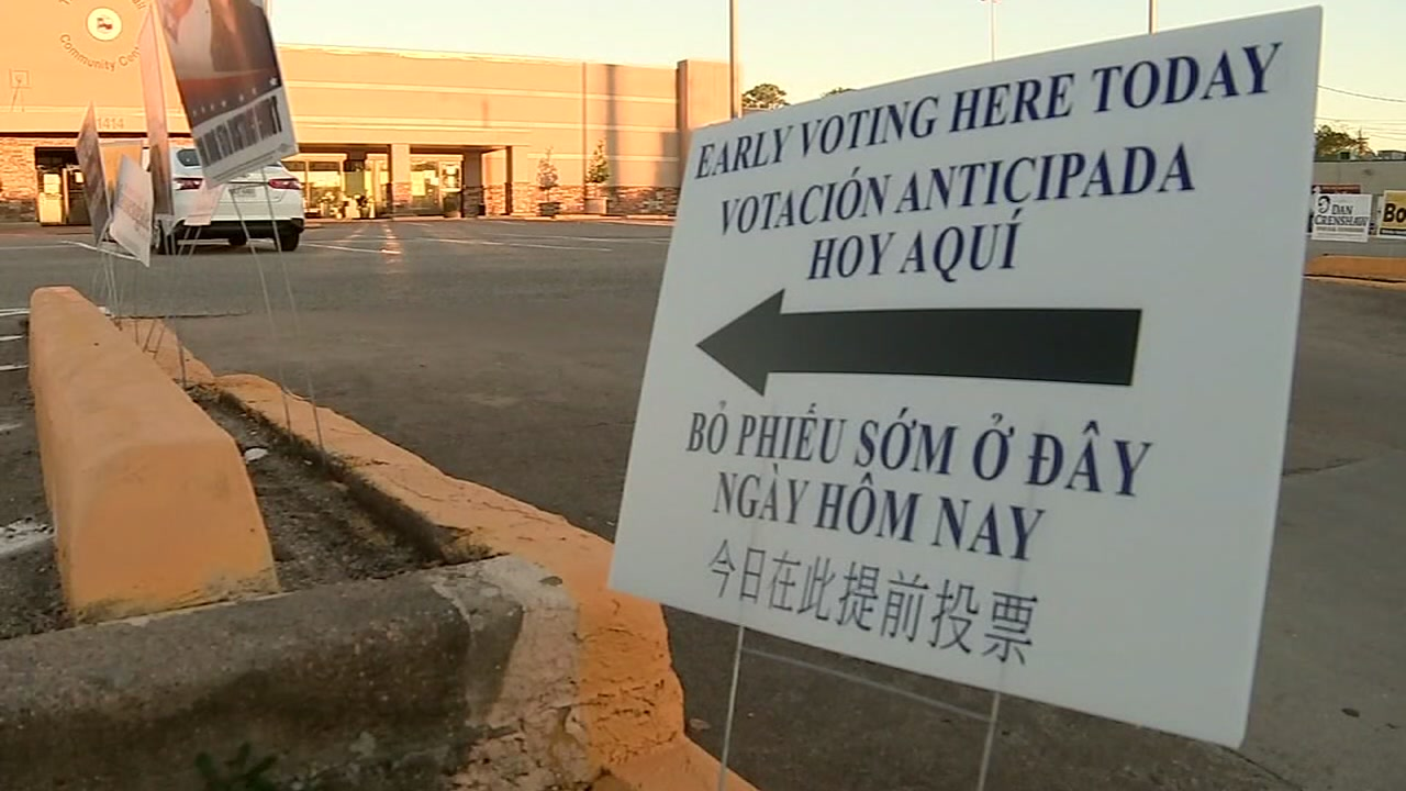 On Sunday, the translators say they were forced out of the polling site by a worker.