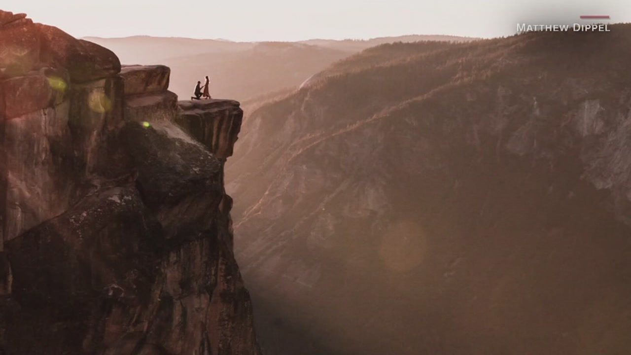 Photographer who snapped viral surprise proposal at Yosemite finds couple