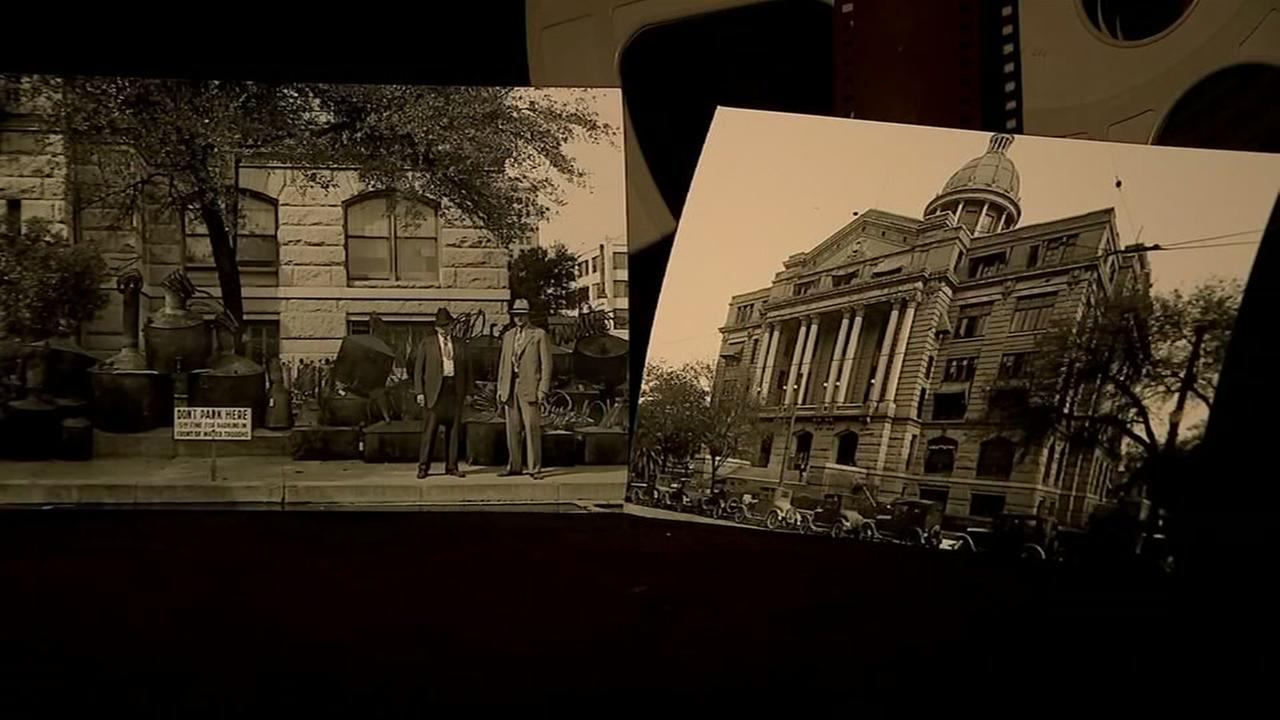100-year-old film shows Houston in 1915