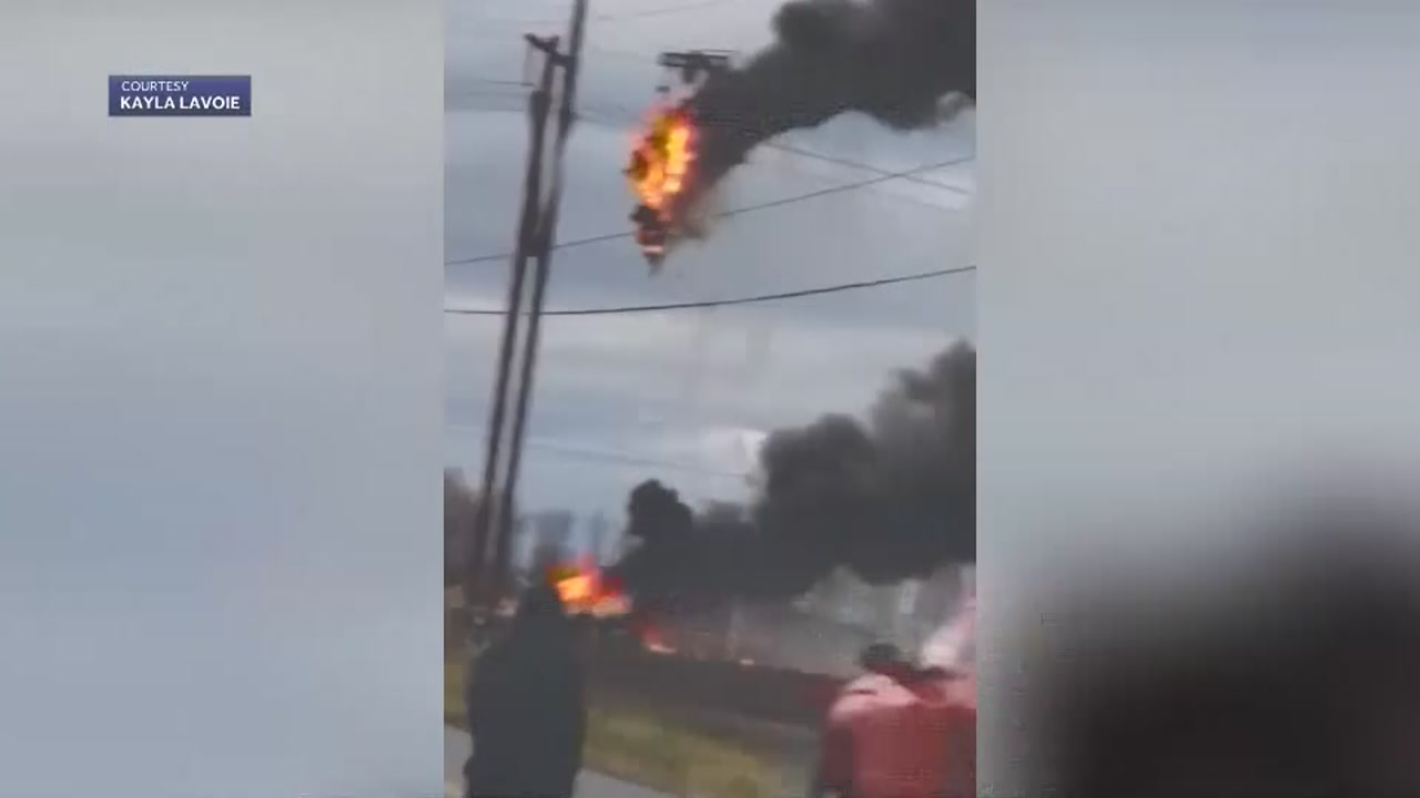 2 killed in fiery helicopter crash