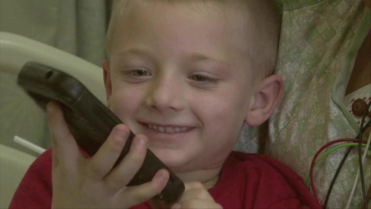 Boy saves moms life