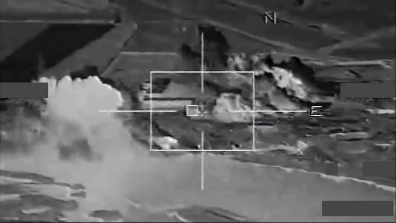 France strike ISIS targets in Syria