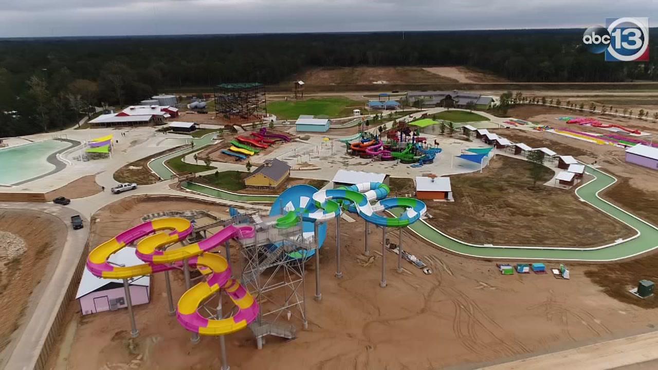 Skydrone13 checks out Gator Bayou Adventure Park