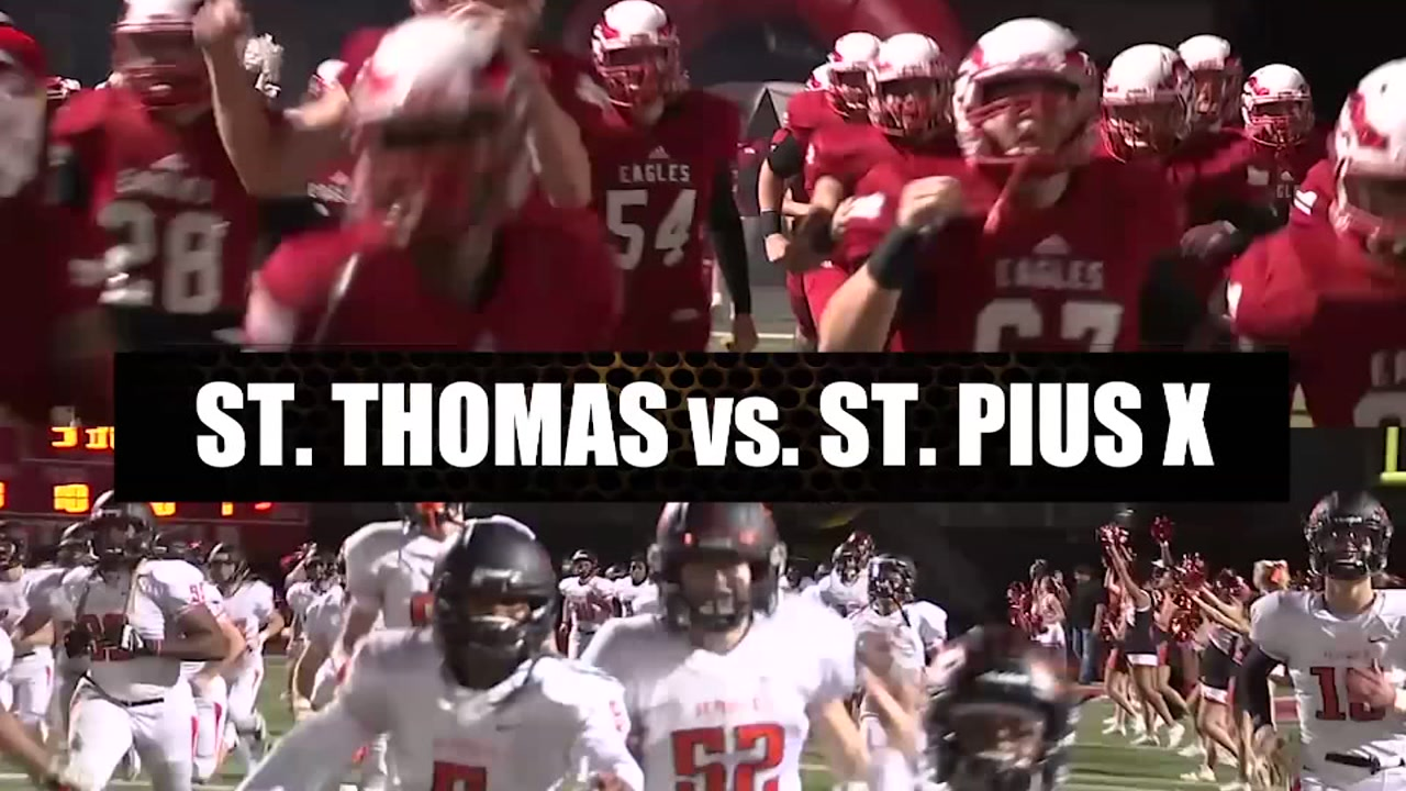 St. Thomas vs. St. Pius X by the numbers