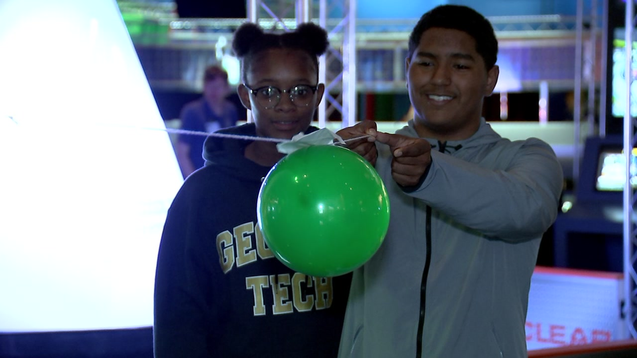 KIPP NE students learn on out-of-this-world field trip