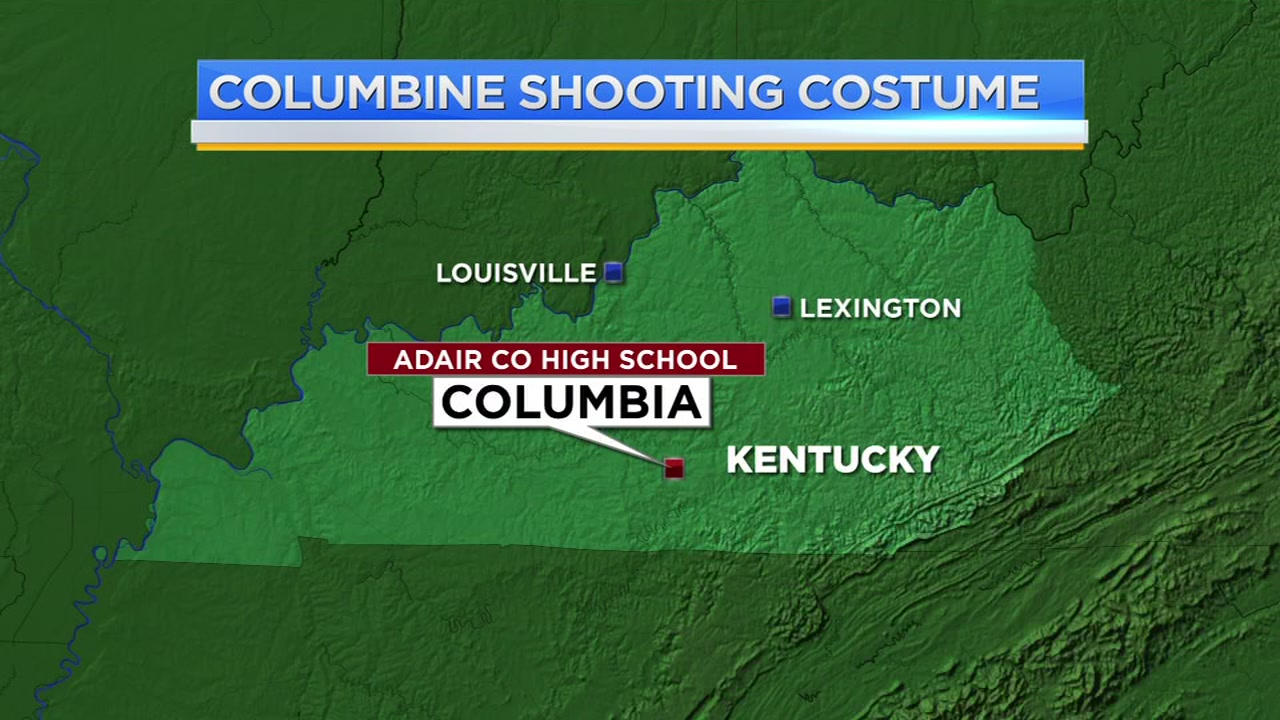 High schoolers posing as Columbine shooters suspended