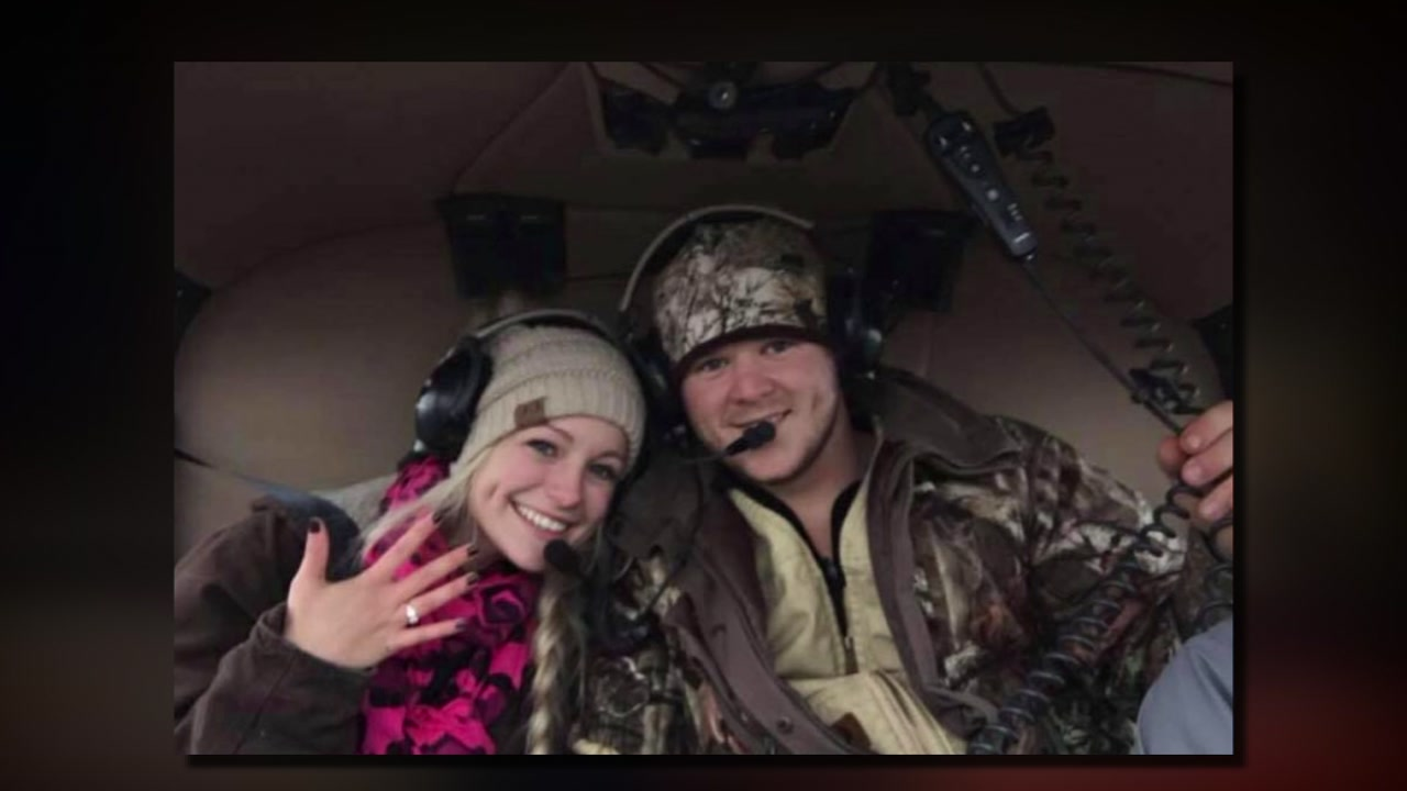 Texas couple dies in helicopter crash after tying knot