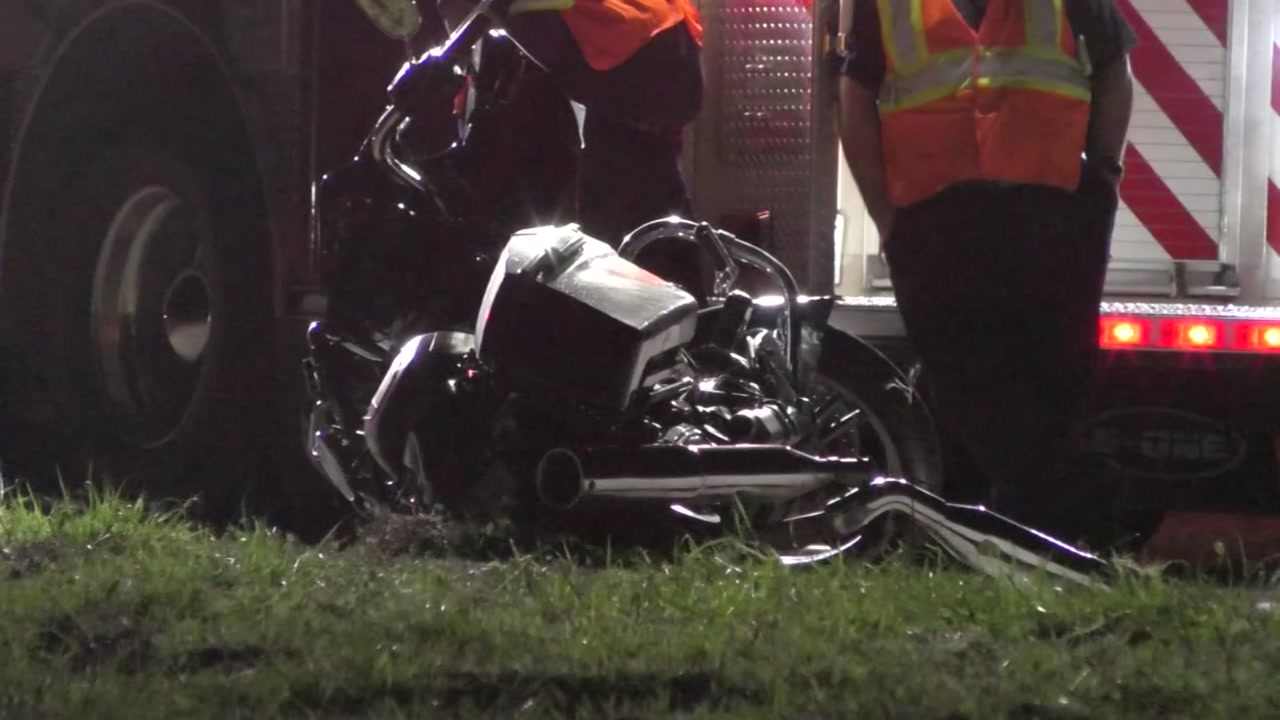 A third biker attending Lone Star rally was killed after crashing on Highway 3 just after midnight.