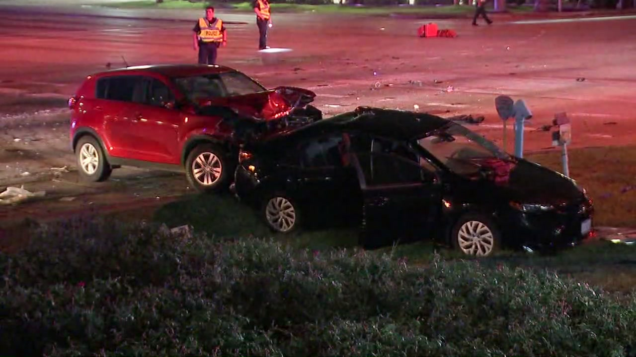 Police said one of the drivers ran a red light, which caused the deadly crash.