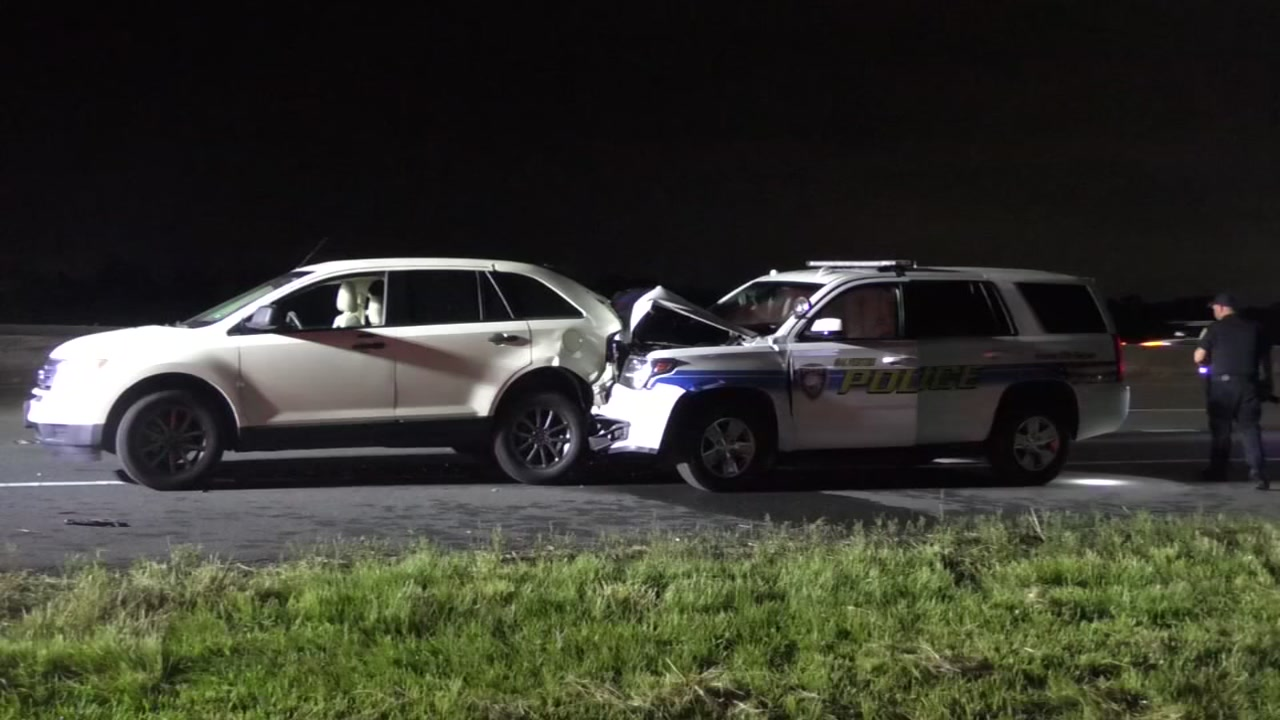 Galveston chase ends with officer hurt