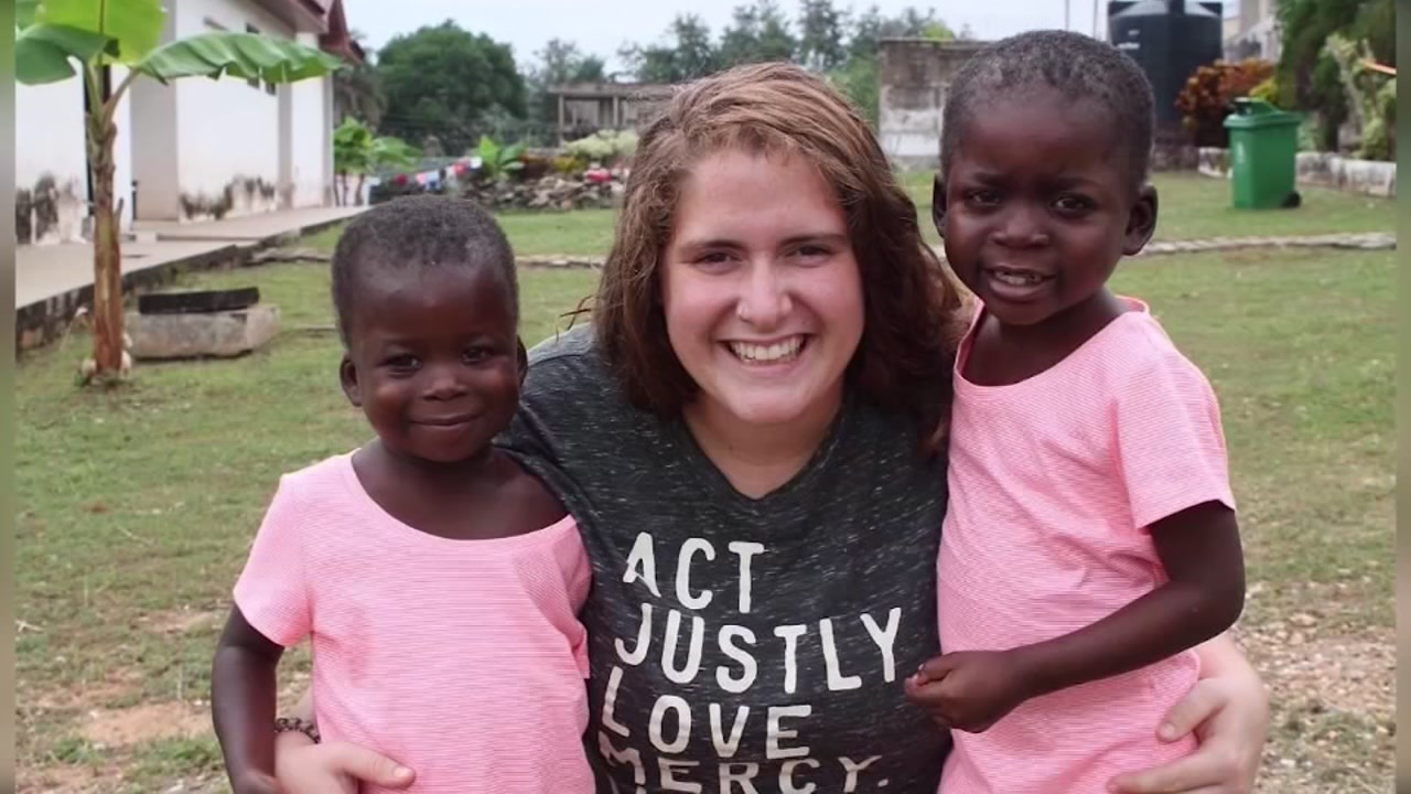 Meghan Liddy moved to Africa after high school for humanitarian work with children with special needs.