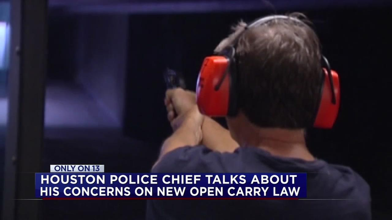 HPD chief talks about open carry