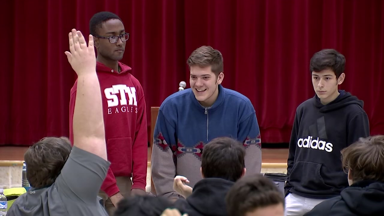 St. Thomas HS students give back