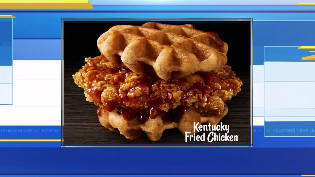 Chicken and waffles is now being sold at a fast food restaurant!