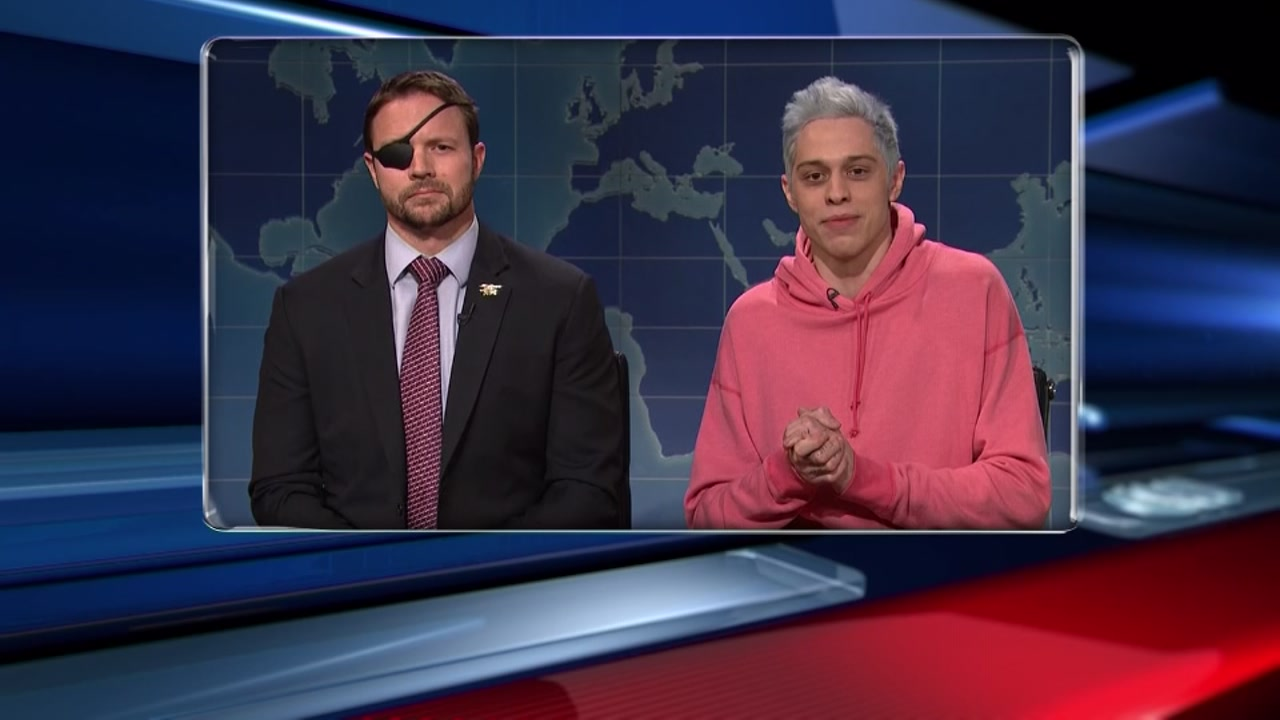 SNLs Pete Davidson apologizes to Texas congressman-elect Lt. Commander Dan Crewnshaw.