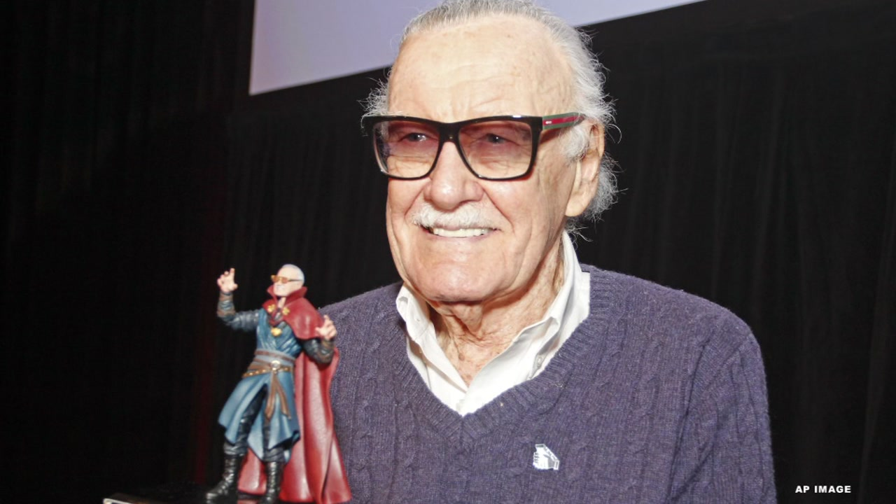 Stan Lee helped to create characters like Spider-Man, the Hulk and the Fantastic Four.
