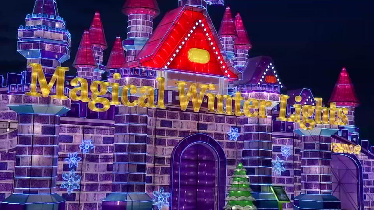 Not feeling the holiday spirt yet? Take a trip to the Magical Winter Lights attraction opening Friday.