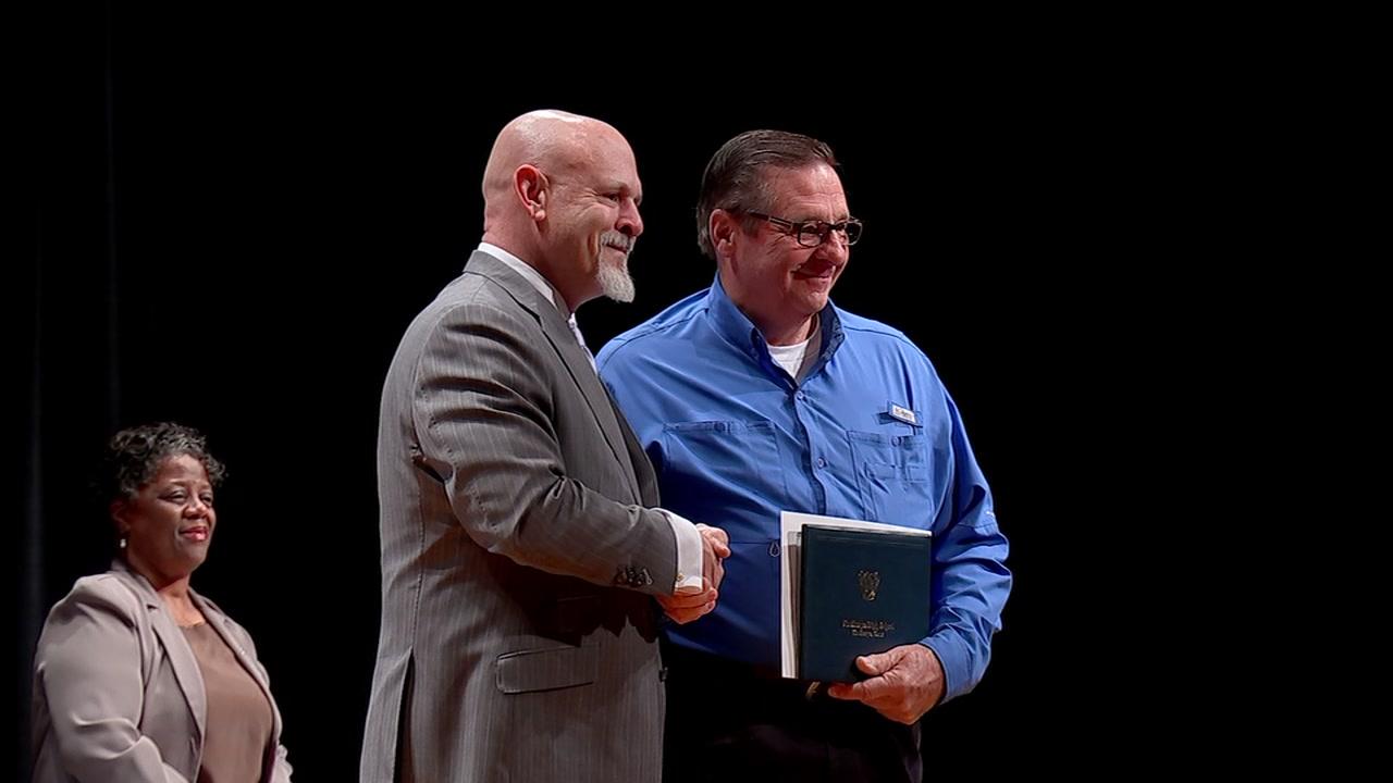 Vietnam War veteran receives high school diploma