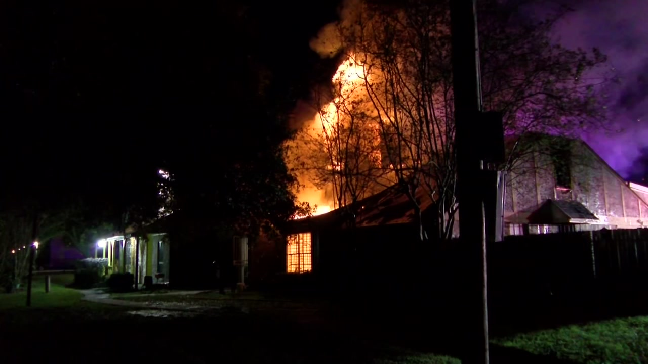 Meth found at the scene of house fire in northeast Harris County
