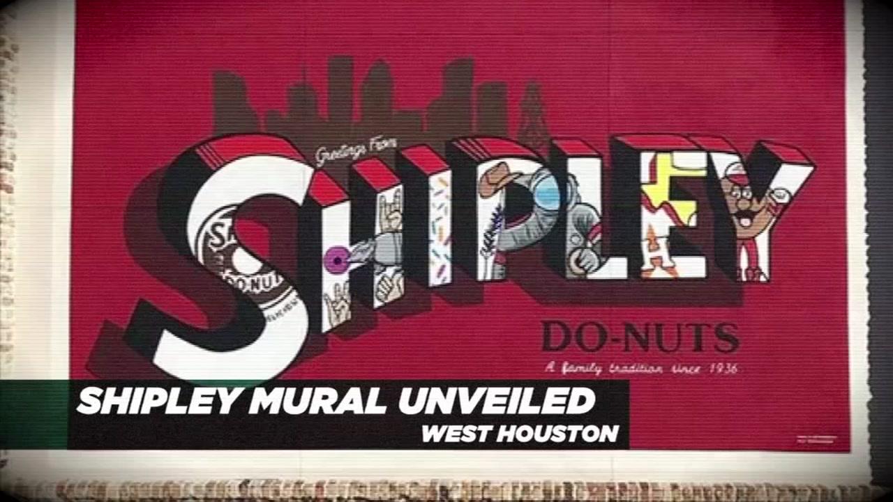 Local artist unveils first Shipleys mural