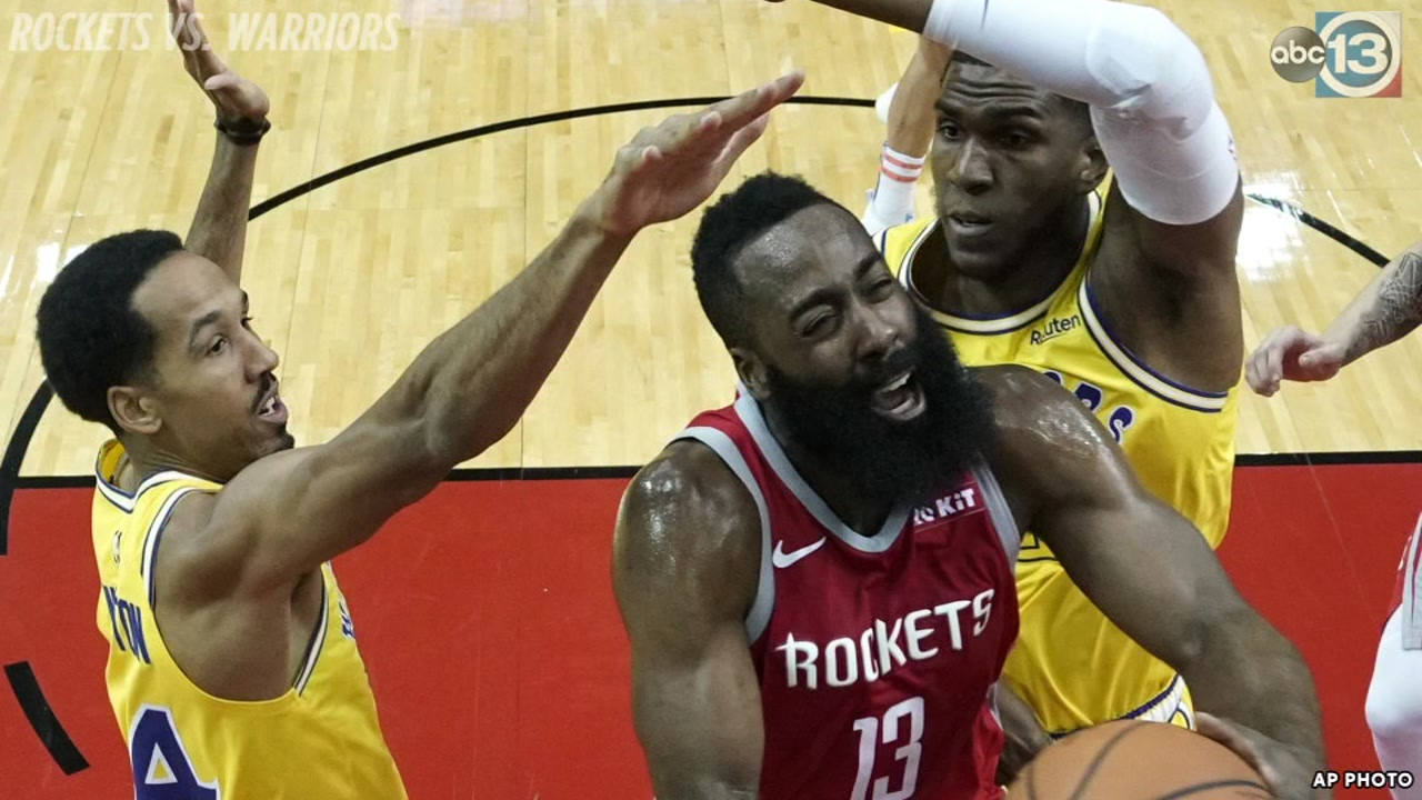 Rockets blowout short-handed Warriors in revenge game