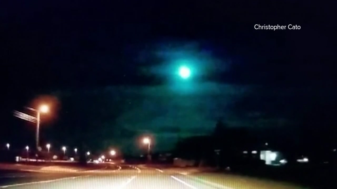 Did you happen to spot the meteor shooting across the Texas sky?