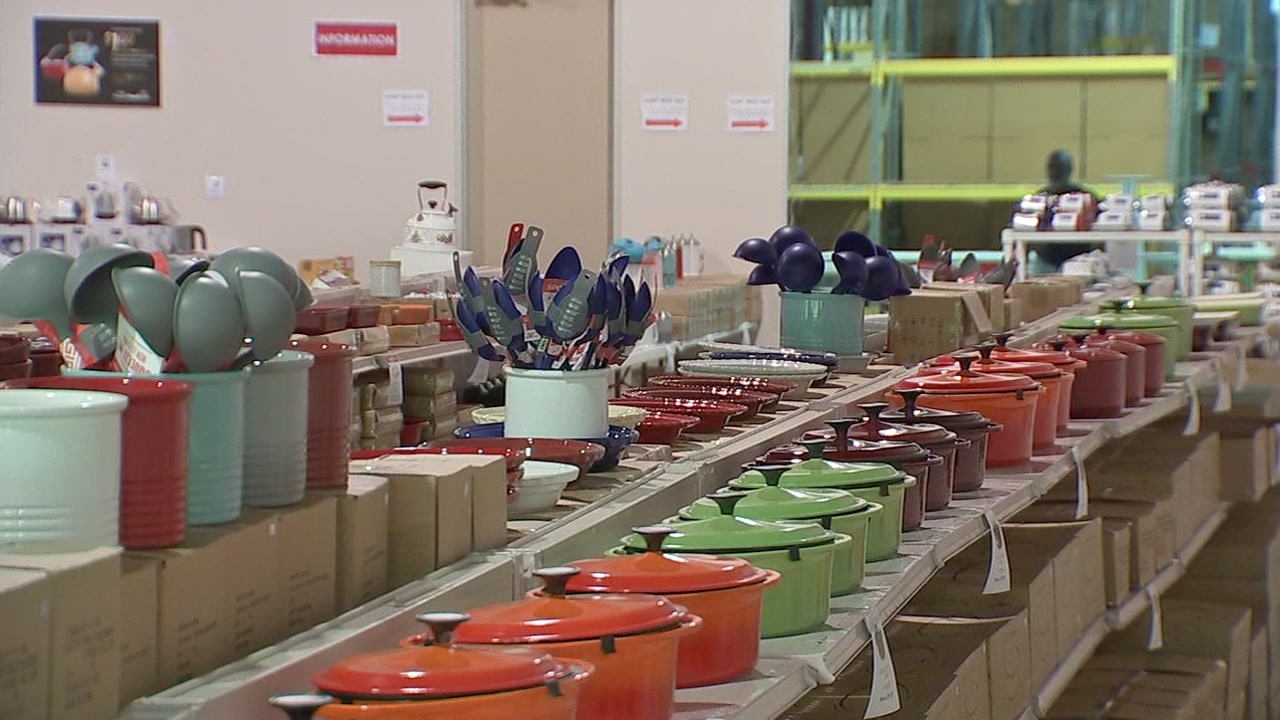A warehouse in northwest Houston is the perfect place to stock up on necessities before hosting that big holiday dinner.