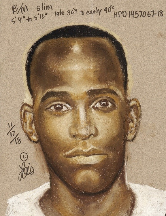 Police release sketch of suspect accused of killing 26-year-old man.