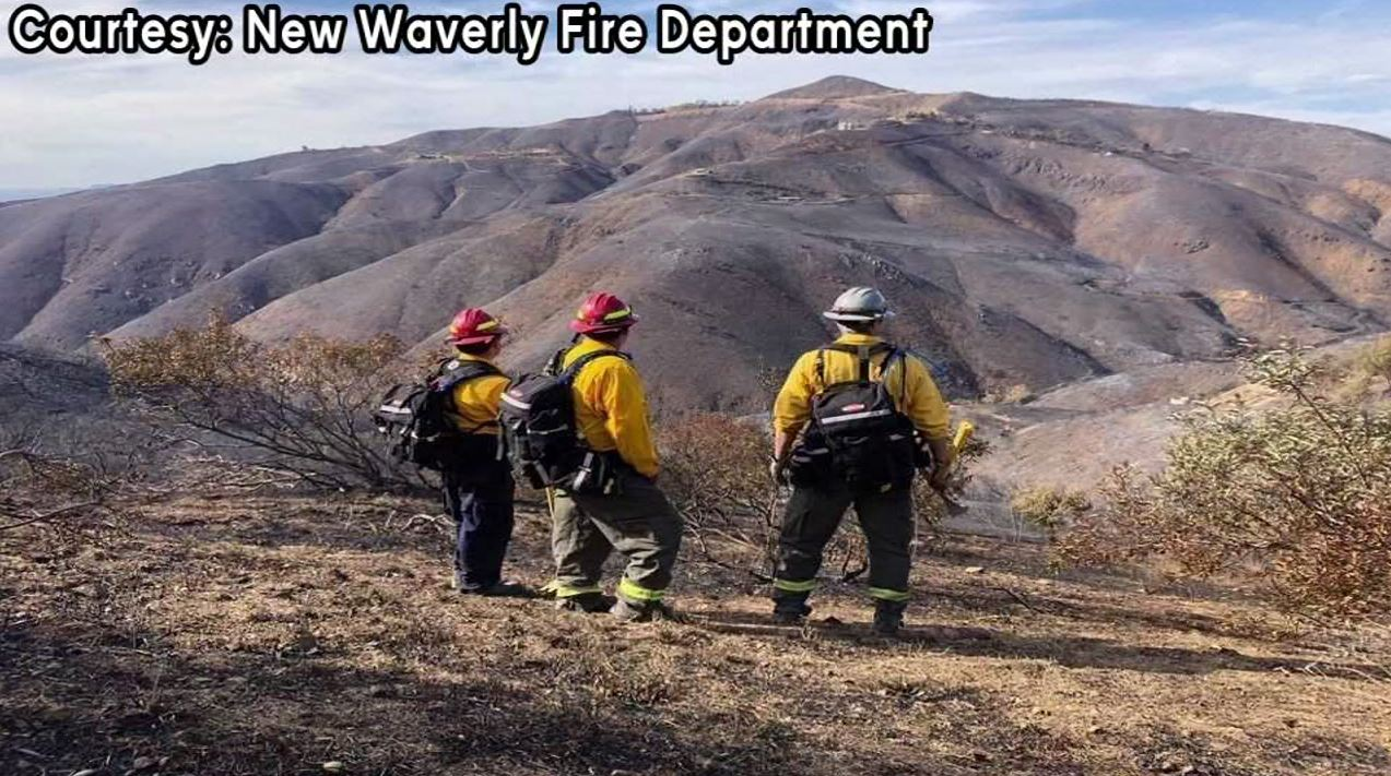 Local firefighters deployed to help with California wildfire