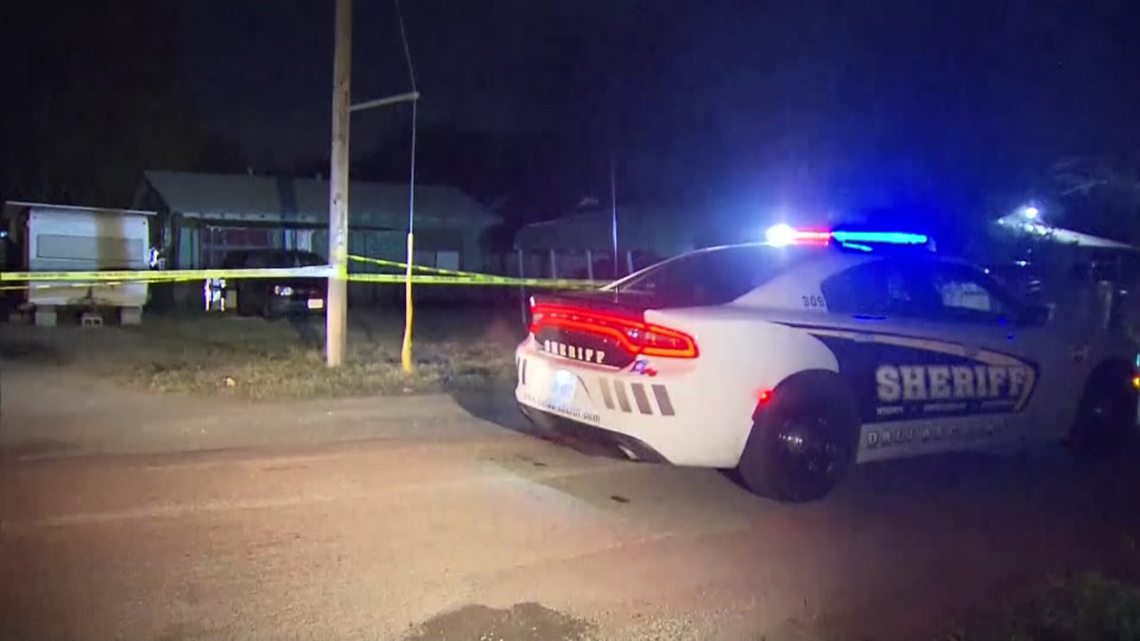 A 2-year-old boy was shot and killed by his father near Dallas Sunday evening, authorities said