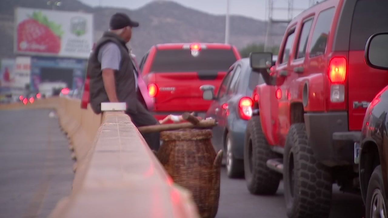 ABC13s Art Rascon reports from Tijuana where the migrant caravan may have to stay put before many are granted an asylum hearing.