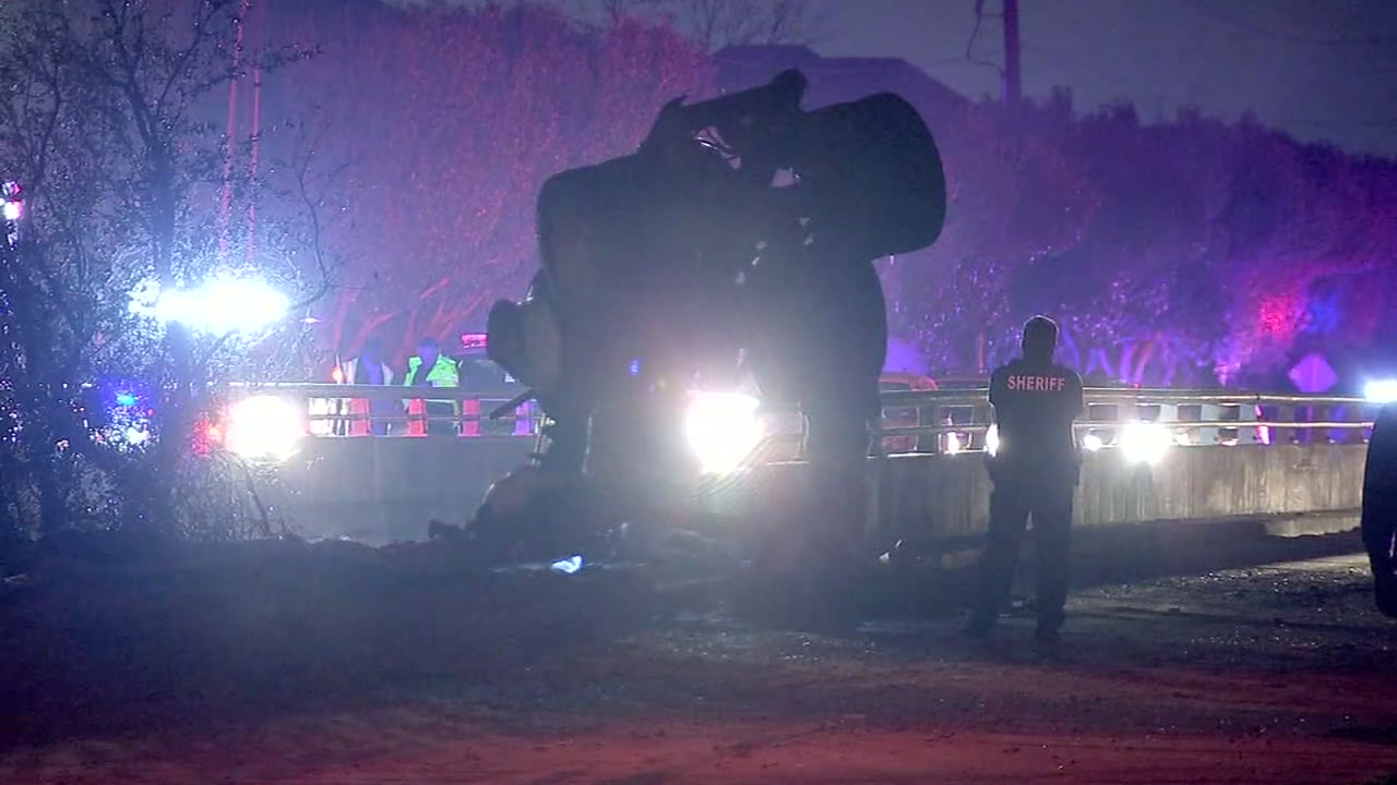 A deadly 18-wheeler crash is under investigation in northwest Harris County.